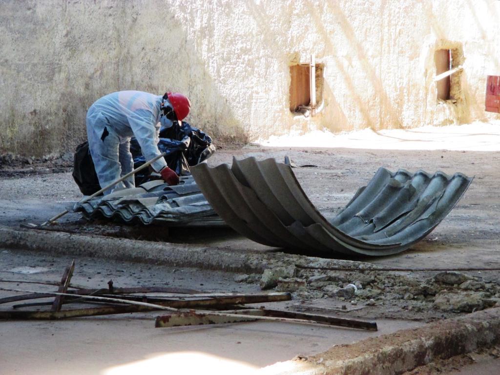 Asbestos Abatement Jet Demolition