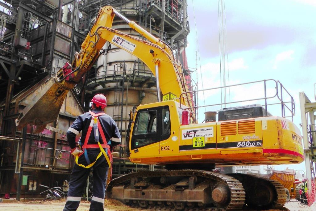 Heavy Industrial Demolition - Jet Demolition