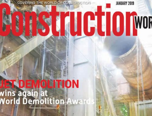 On the Cover – Construction World – January 2019